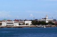 Το Stone Town με το Παλάτι του Σουλτάνου
