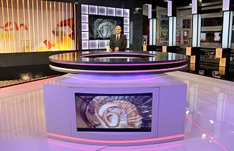 Zaven Kouyoumdjian - Mr. Zaven Kouyoumdjian during one of his episodes at the Future Television studios