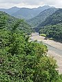 Zengwen River and Dapu Bridge surrounded by mountains and forests, 1st October 2020.jpg