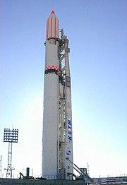 Ukrainian LV Zenit-2 is prepared for launch