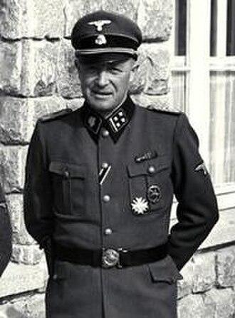Franz Ziereis - Mauthausen-Gusen   Camp Commandant