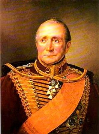 Hans Ernst Karl, Graf von Zieten - Hans Ernst Karl von Zieten, by Franz Krüger