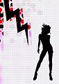 Zigzag design Paris Shock Series 010 silhouette.jpg