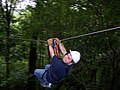 Ziplining through rainforest in San Ramon, Costa Rica.jpg