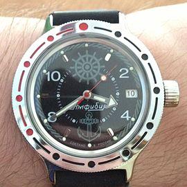 d92555ccf187 Часы «Восток-Амфибия» с одинарным календарём.