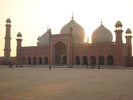 """Baadshahi Mosque"" (Imperial Mosque) - Lahore, Pakistan.JPG"