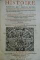 """""""Histoire ou recueil des gestes, moeurs, aages et regnes des Roys de France"""" (Pierre Aubert).png"""