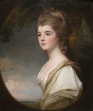 Elizabeth Leveson-Gower, Duchess of Sutherland - Image: 'Elizabeth, Duchess Countess of Sutherland' by George Romney, Cincinnati Art Museum
