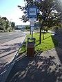 'Salgótarján, Salgó út' bus stop, 2020 Salgótarján.jpg