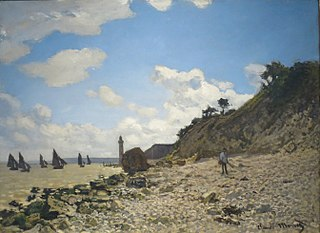 The Beach at Honfleur