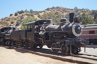 Hetch Hetchy Railroad - Image: 'Travel Town Museum' 01