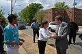 (Earth Day event promoting Washington, D.C. affordable housing-) Secretary Shaun Donovan joining Washington, D.C. Mayor Adrian Fenty, D.C. Delegate to Congress Eleanor Holmes Norton - DPLA - ae3ed80dd31a756c41911755085f7974.JPG