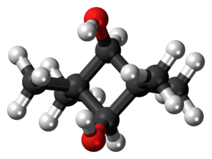 2,2,4,4-Tetramethyl-1,3-cyclobutanediol - Image: (Z) CBDO 3D balls