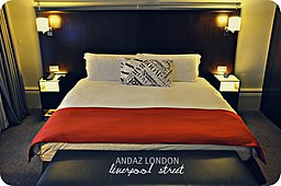 ( A Sense of Grand Boutique and Life in the Capital = Large King Room ) ANDAZ Liverpool Street, London, England, UK (5363713961)