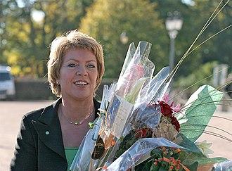 Åslaug Haga - Image: Åslaug Haga Sp Kommunal og regionalminister 20051017