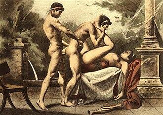 Threesome - Image: Édouard Henri Avril (29)