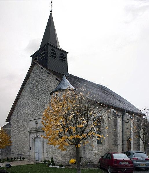 English:  Parish church Saint-Martin, Bayel, ,  Champagne-Ardenne , France.