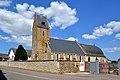 Église Saint-Mathieu et Saint-Lô d'Ouffières. Vue sud-ouest.jpg