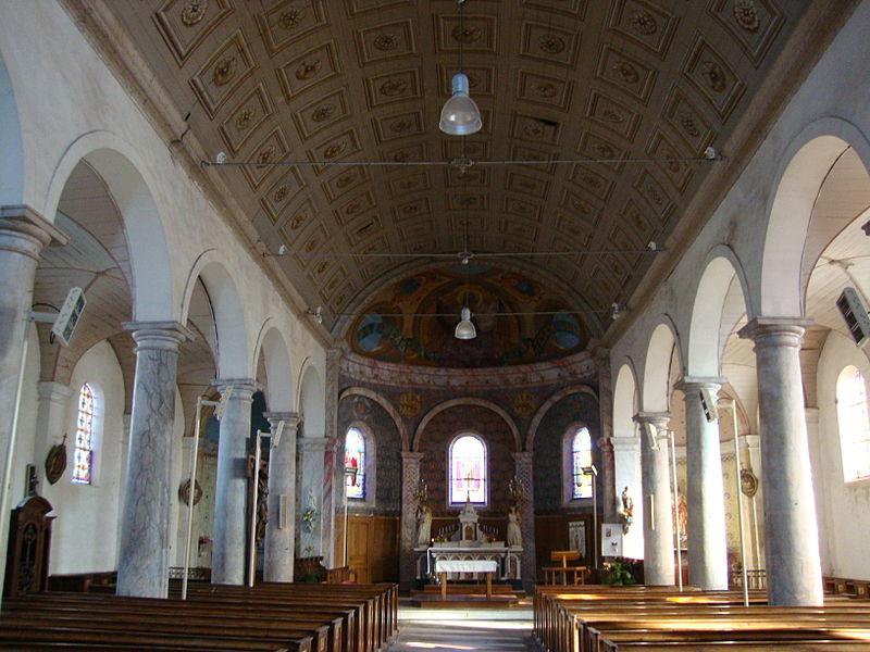 Église Saint-Maxent de Vouillé-les-Marais
