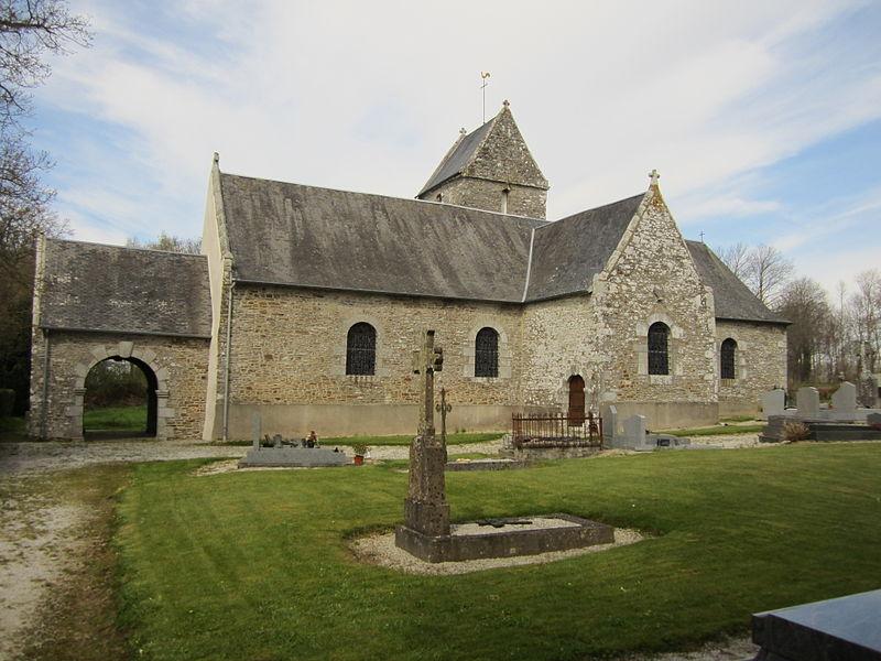 église Sainte-Anne d'Équilly, Manche