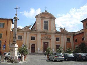 English: View of the church San Francesco a Ri...