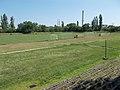 Építők Sport Club stadium, chimney, People's Park, 2016 Kőbánya.jpg