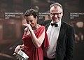 Österreichischer Filmpreis 2017 photo call Stefan Ruzowitzky Ursula Strauss 3.jpg