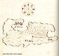 Χάρτης της νήσου Έλμπα στην Ιταλία - Antonio Millo - 1582-1591.jpg