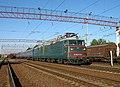 ВЛ82М-054, Украина, Харьковская область, станция Коломак (Trainpix 195281).jpg