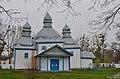 Кожанка. Миколаївська церква. 1758 р. Північний фасад.jpg
