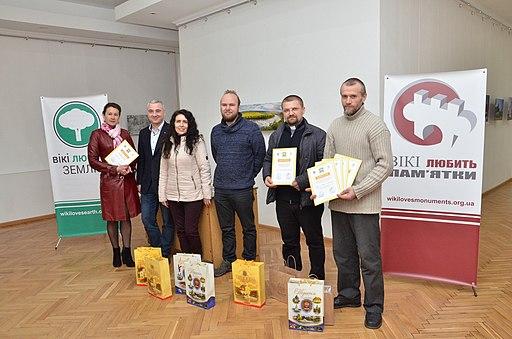 Нагородження переможців Місяця Тернополя і відкриття виставки світлин