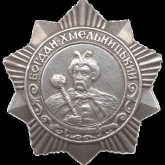 Order of Bogdan Khmelnitsky (Soviet Union) - Soviet Order of Bogdan Khmelnitsky 3rd class