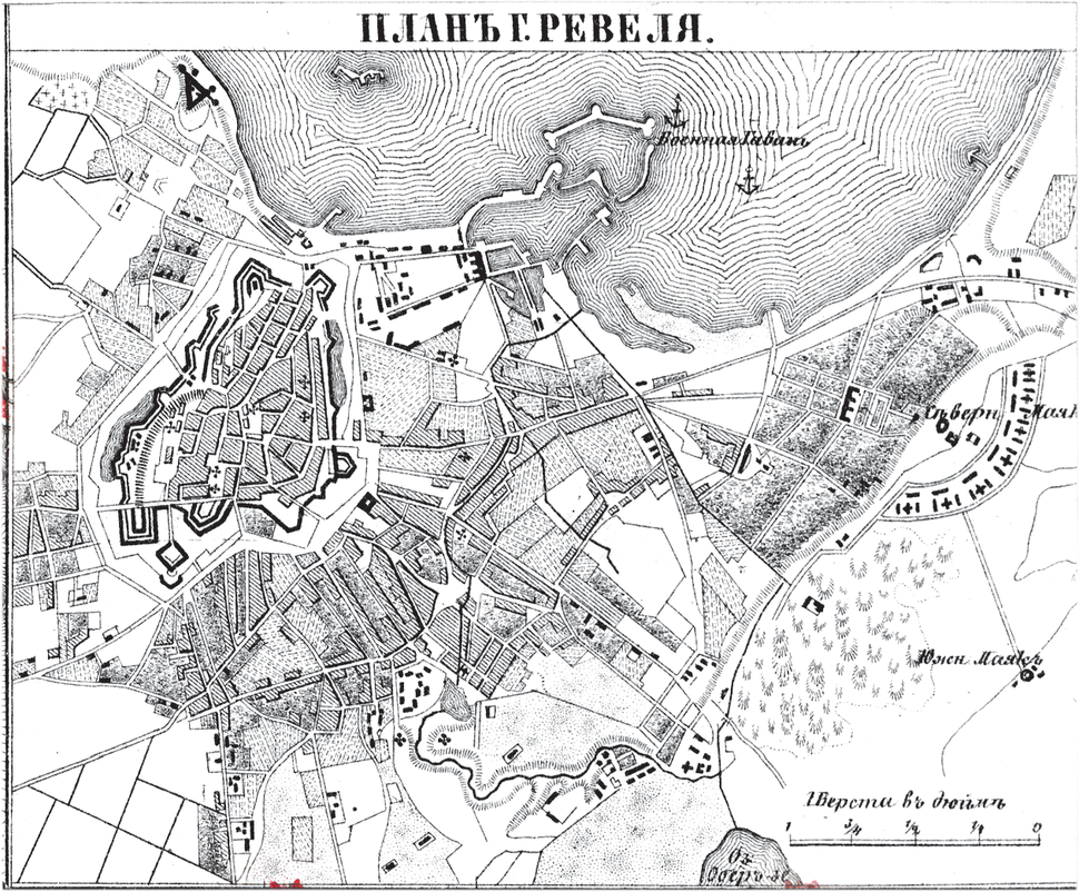 План города Ревеля 1876