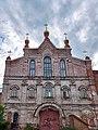Повреждённое здание Преображеского монастыря.jpg