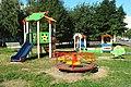 Почти готовая детская площадка в 1-м микрорайоне Братеево в Москве.JPG