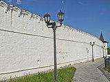 Прясло стен между южной круглой башней и юго-восточным четырёхугольным павильоном.jpg