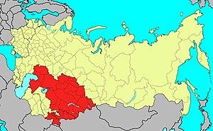 Central Asian Military District - Image: Среднеазиатский военный округ