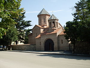 Dedoplistsqaro - A church in Dedoplistsqaro