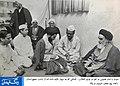 آیت الله زاهد خمیرانی در دیدار علمای گیلان با حضرت امام خمینی (قدس سره).jpg