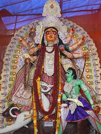 Shakta Rash - Dumureshbri mata in Nabadwip Rash Jatra