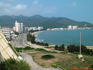 Nanao County County in Guangdong, Peoples Republic of China