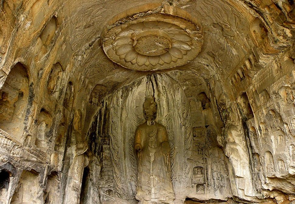洛阳龙门石窟,Luo Yang Dragon Gate Grottoes - panoramio (9)