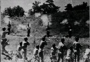 National Defense Corps incident - The execution of five commanding officers on 12 August 1951