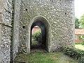 -2020-06-09 Passage way under the Bell tower, Saint Andrew parish Church, Metton, Norfolk (1).JPG