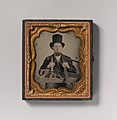 -Carpenter in Top Hat with Hatchet, Compass, Square, and Hand Saw- MET DP700295.jpg