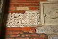 0010 - Milano - Sant'Ambrogio - Atrio - Frammenti lapidei - Foto Giovanni Dall'Orto 25-Apr-2007.jpg