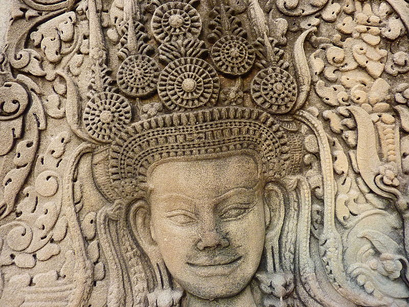 File:005 Apsaras at Angkor Wat, Cambodia.jpg