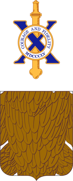 10th Infantry Regiment (United States) - Coat of arms