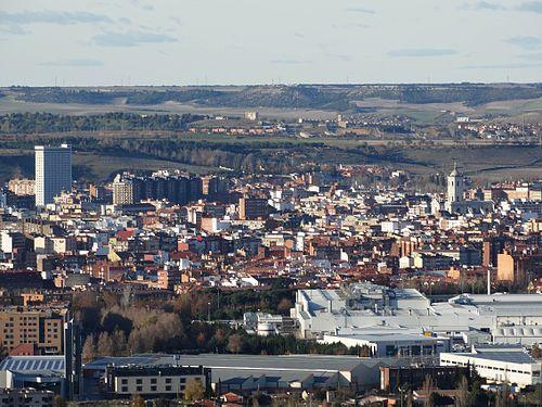 Cerro de san crist bal valladolid wikipedia la - Spa urbano valladolid ...