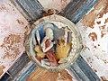 034 Sant Jeroni de la Murtra, galeria sud del claustre, clau de volta.JPG